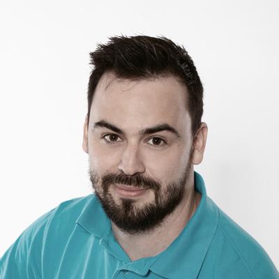 Stefan Riegler arbeitet als Physiotherapeut bei Schilling Therapiezentrum in Stallhofen
