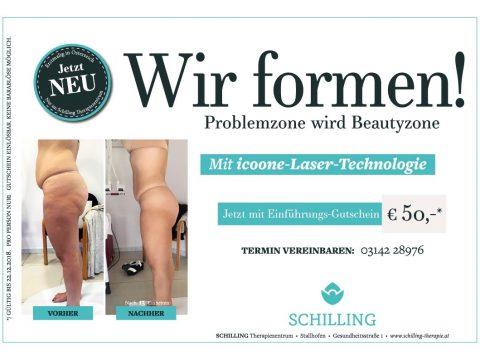icoone Laser Technologie - für die perfekte Körperformung - erstmalig in Österreich