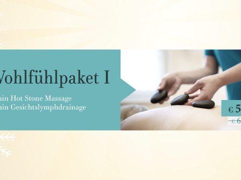Wohlfühlpaket I mit Hot Stone Massage und Gesichtslymphdrainage im Schilling Therapiezentrum, Stallhofen, Voitsberg, Graz, gültig bis 24.12.2018